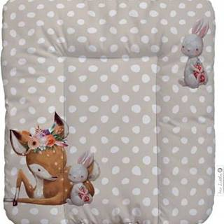Přebalovací podložka Mr. Little Fox Doe and Her Friend, 75 x 70 cm