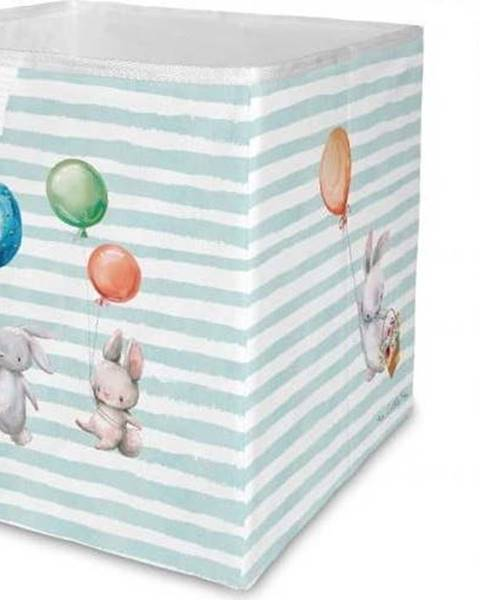 Mr. Little Fox Dětský úložný box Mr. Little Fox Flying Bunnies