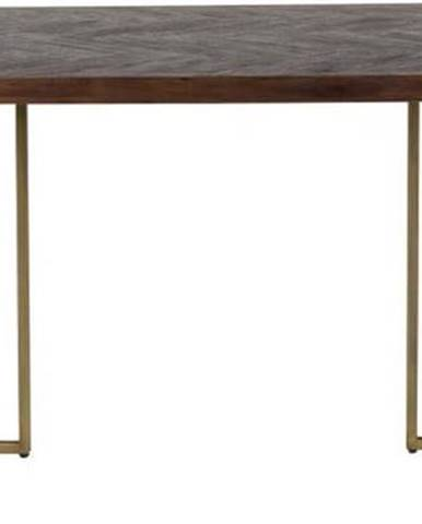 Jídelní stůl s ocelovou konstrukcí Dutchbone Aron, 220 x 90 cm