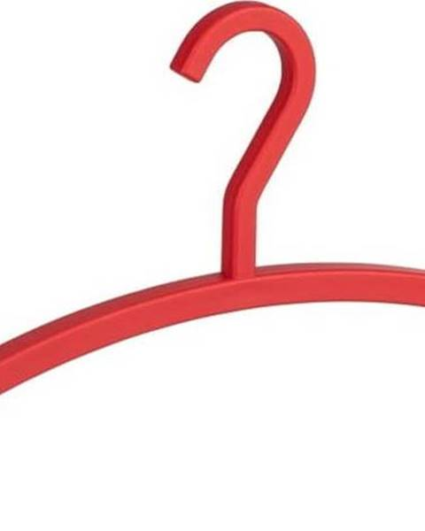 WENKO Červené ramínko na oblečení Wenko Cubido