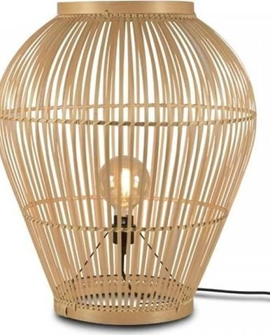 Stojací bambusová lampa Good&Mojo Tuvalu, ⌀60cm