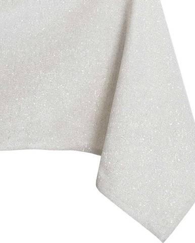Krémový ubrus DecoKing Sparkle Cream, 140 x 180 cm
