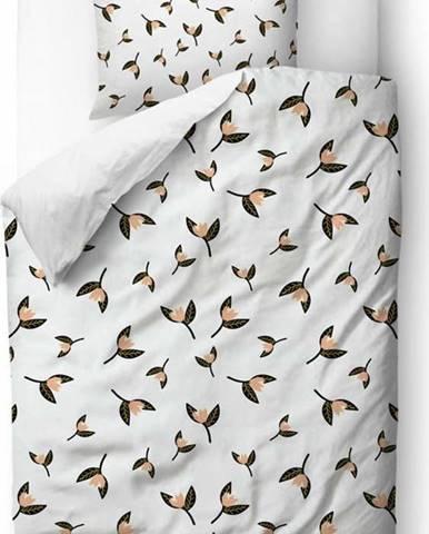 Povlečení z bavlněného saténu Butter Kings Floating Magnolia,140x200 cm