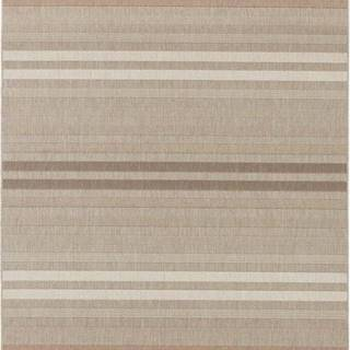 Červeno-krémový venkovní koberec Bougari Paros, 120 x 170 cm