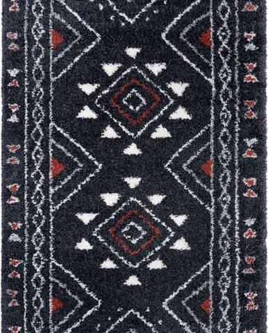 Černý koberec Mint Rugs Hurley, 200 x 290 cm