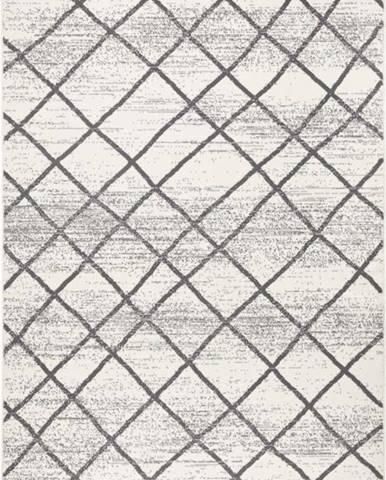 Světle šedý koberec Zala LivingRhombe, 200x290cm