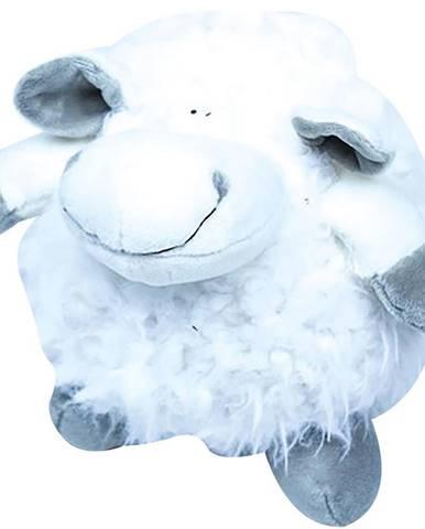 Polštář plyšák 17 ovce 6626 koule bílá