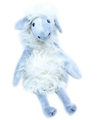 Polštář plyšák 28 ovce 3700 šedá