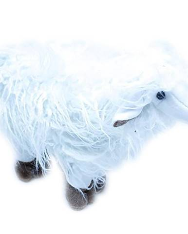 Polštář plyšák 30 ovce 6631 bílá