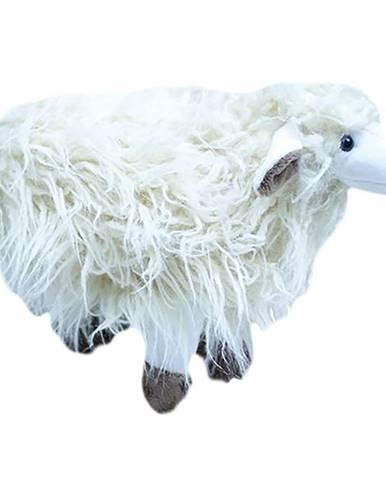 Polštář plyšák 30 ovce 6631 krémová