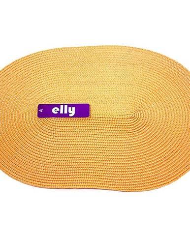 Prostírání Elly oválné 30x45 oranžová