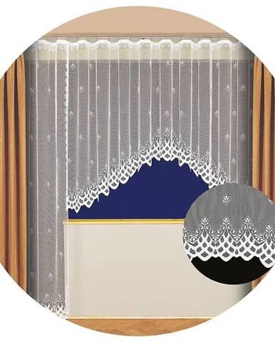 Záclona kusová Sandra 180x320 h3256 15 vykrojená