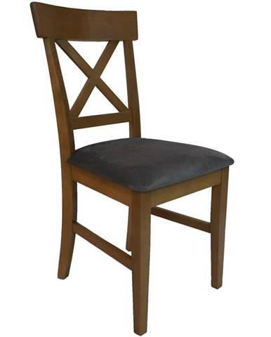 Židle 752 D.Wotan Tk.Monolith 85