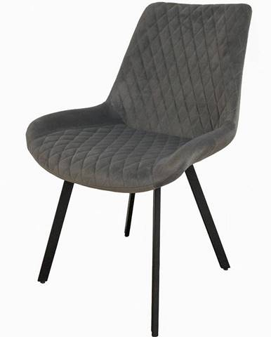 Židle Kansas Tk. Šedá 820-19