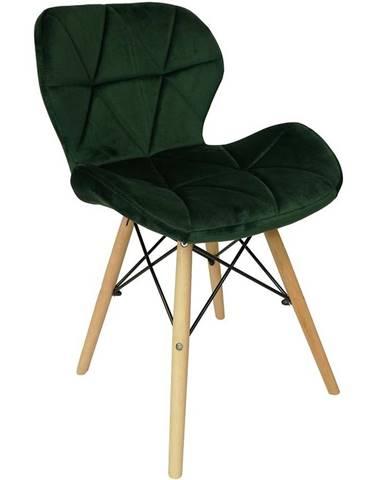 Židle Malta Láhev Zelená