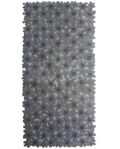 Podložka do vany j-6833 68x33 68x33 květy šedá