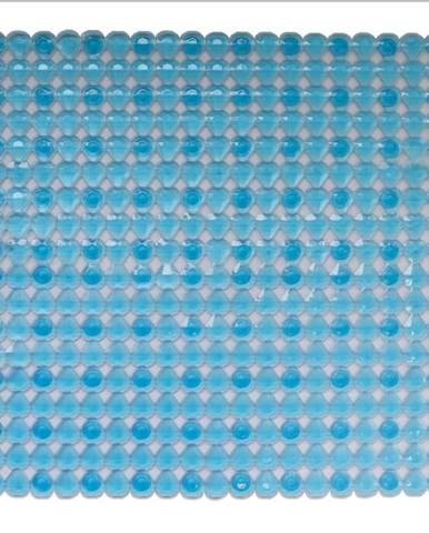 Sprchová rohož j-d5454 54x54 kolečka modrý