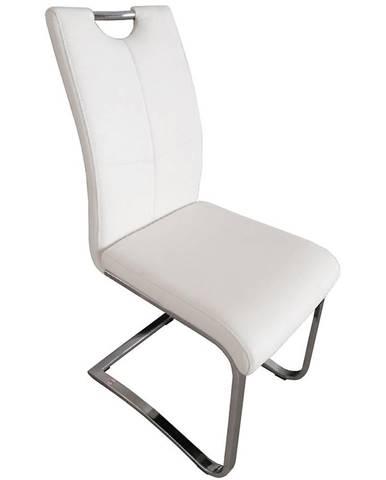 Židle Nicole bílá dc-302