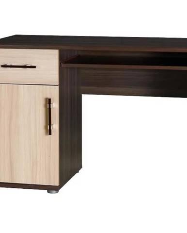 Psací stůl Inez 110 cm, jasan
