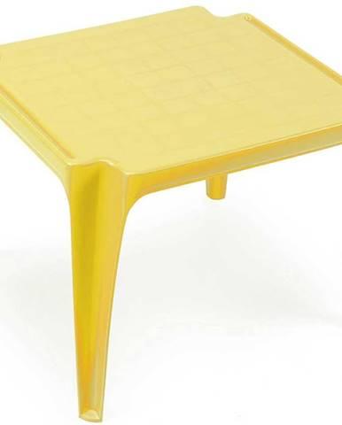 Dětský stolek žlutý
