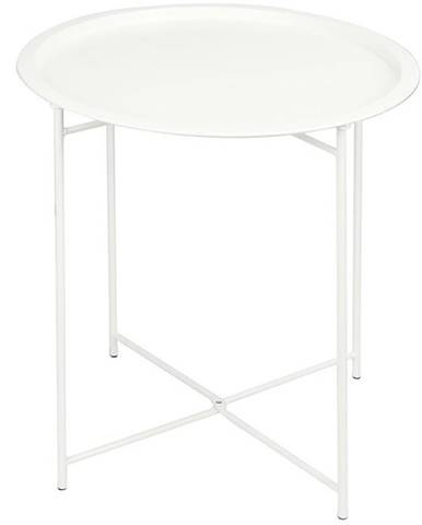 Malý skládací stůl 46x52cm bílá