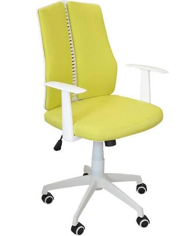 Otáčecí Židle Cz11126m Žlutý/Bilá