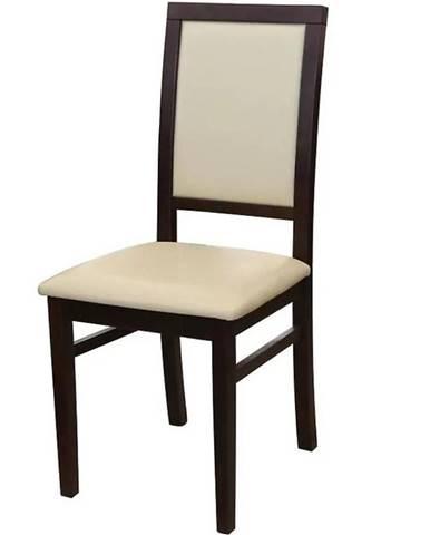 Židle 770 Tmavý Ořech Tap. D1p