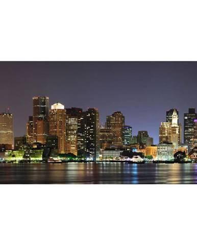 Dekor skleněný - Boston v noci 30/60
