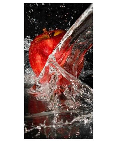 Dekor skleněný - jablko ve vodě 30/60