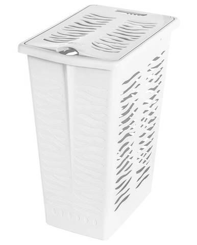 Koš na prádlo 30L 1401 bílá