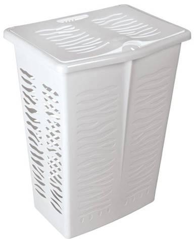 Koš na prádlo 42L 1403 bílá