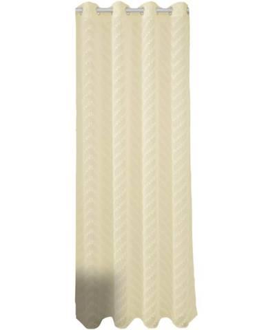 Závěs NEFRYT 140X250 18839 krémová