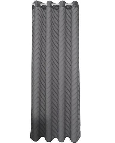 Závěs NEFRYT 140X250 18841 šedá