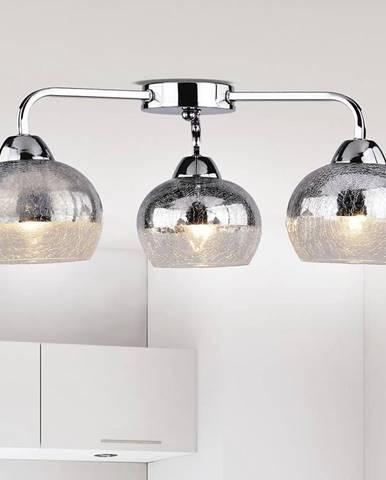 Stropní lampa Cromina 3x60w E27 Chrom
