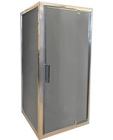 Sprchový kout čtvercový marko 80 grafit-chrom