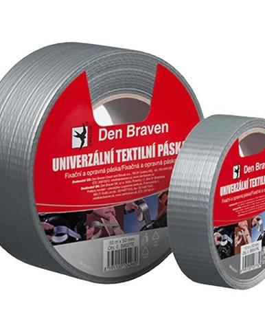 Univerzální textilní páska Den Braven 50 mm x 50 m