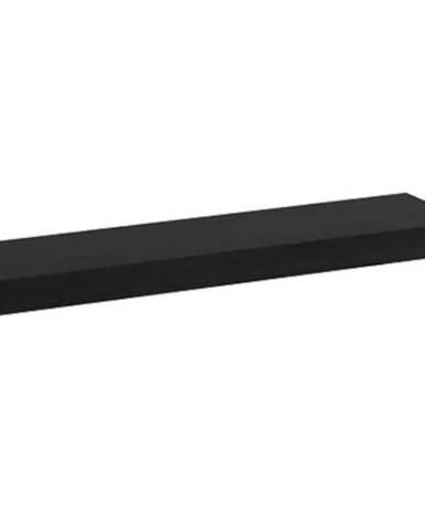 Polička Kate 60 cm Černá