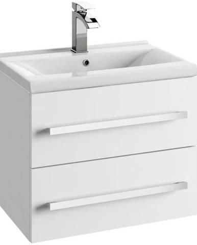 Skříňka s umyvadlem bílá Granada 0D2S 60