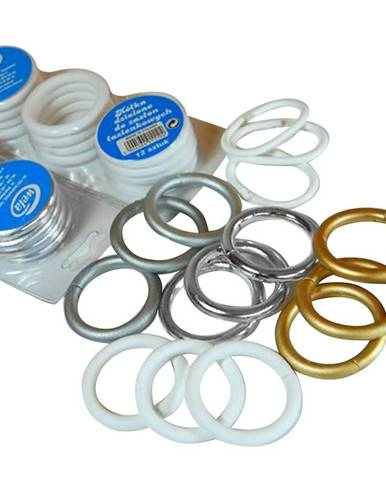 Set koleček chromované