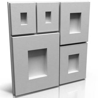 3D obkladový panel Portland 50x50cm