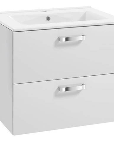 Skříňka s umyvadlem bílá Primo 0D2S 50