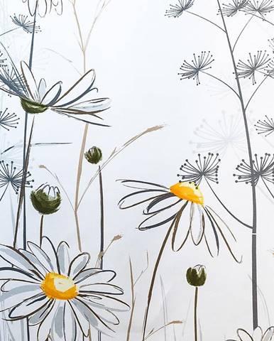 Sprchový zavěs 120x200 W08441 Flower Daisy