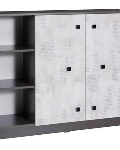 Komoda Tommy 120 cm Grafit/Enigma