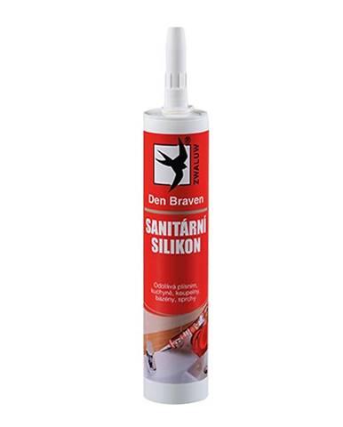Silikon sanitární Den Braven stříbřitě šedá 280 ml