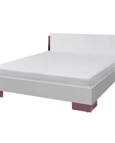 Postel Lux 170 cm Bílý