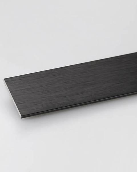 PARQUET MERCADO Profil plohý hliník černý 30x2x1000
