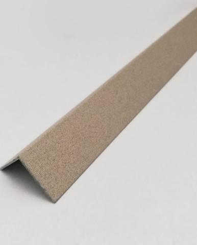 Rohový Profil ALU Lakovaná Pískový 10x10x2600