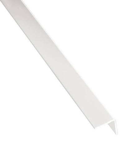Rohový Profil Samolepící PVC Bílý Lesk 19,5x19,5x2600