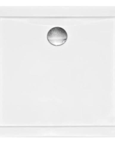 Vanička čtvercová Aquarius Slimline 80/80/3