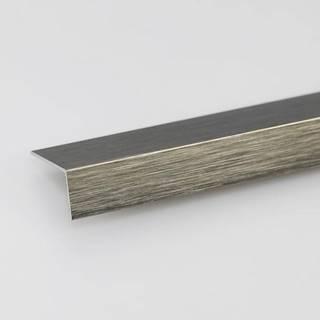 Rohový Profil ALU Kartáčovaný Titan 15x15x1000